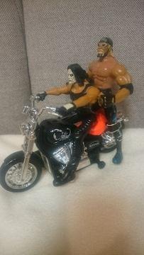 中古 貴重!nWoスティング&バイク ホーガン付き! 新日 WWE WCW 1999