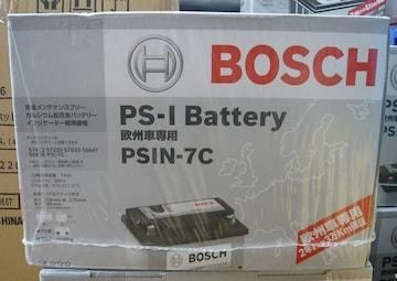 在庫有り ボッシュバッテリーPSIN-7C☆ボルボ850 V70