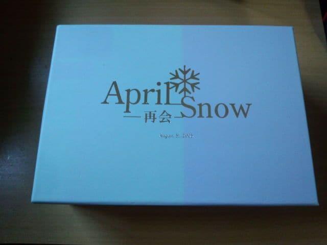 DVD-BOX「April Snow -再会-」四月の雪 ぺ・ヨンジュン韓国●  < タレントグッズの