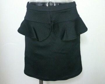 GU★ぺプラム コクーン ミニスカート