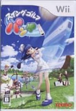 ☆Wiiソフト☆スイングゴルフ パンヤ☆