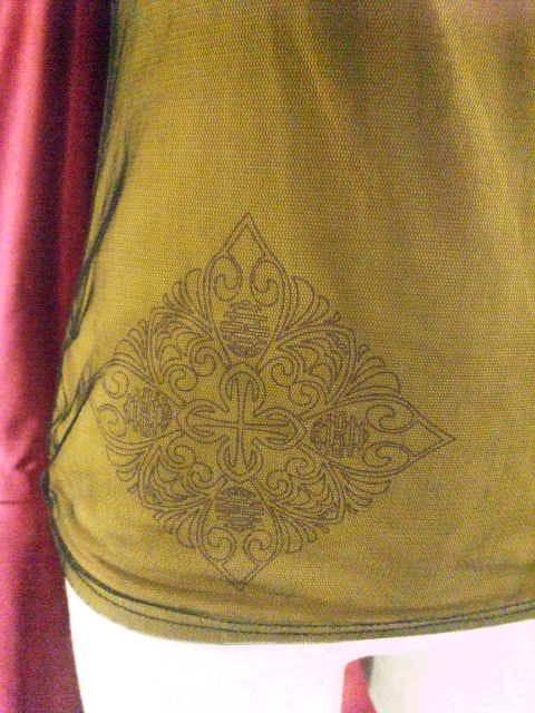 〓OzzOn〓花刺繍〓網使用キャミ(^o^)〓 < 女性ファッションの