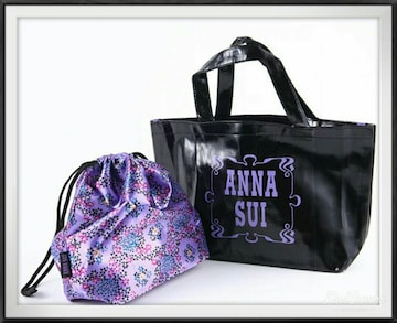 ANNA SUI/レザー調トート&巾着/アナスイ