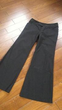 【今季即決】BLACK◆春夏ユッタリライン◆美脚バギー◆W64