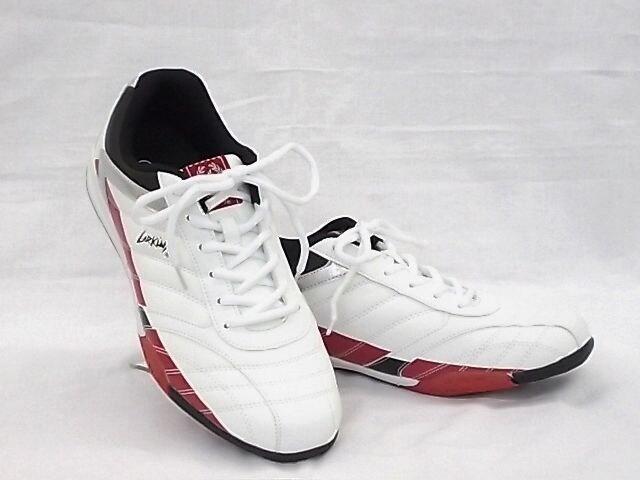 ラーキンス 6236 26.5cm ホワイト/レッド LARKINS スニーカー  < 男性ファッションの