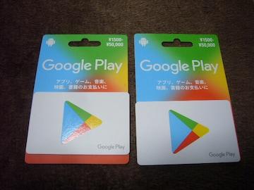 ★迅速★Google play ギフトカード20000円分★グーグルプレイ