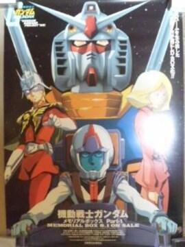 ガンダム、LD,BOX宣伝用ポスター