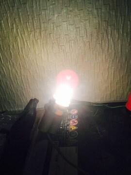 ポジション!ナンバー灯!ハイパワーホワイトビーム!