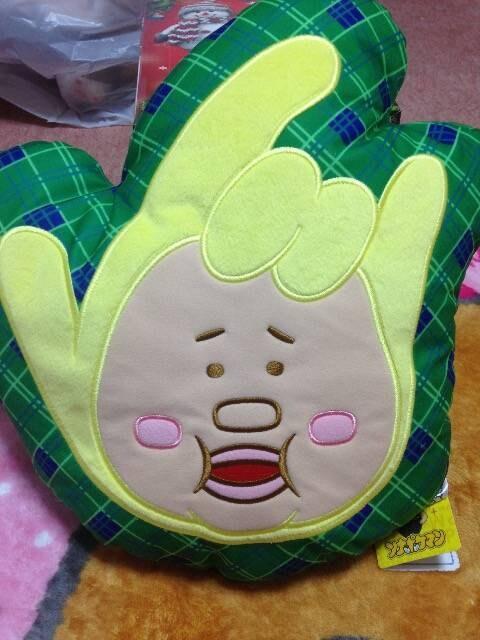 ソナーポケット ★ソナポケマン チェックカラークッション【E】  < タレントグッズの