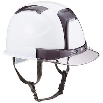 TOYO ヘルメット ヴェンティー 白/スモーク No.390F-OTSS 高機能