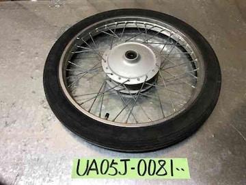☆ UA05J ヤマハ YB-1 フロント ホイール タイヤ