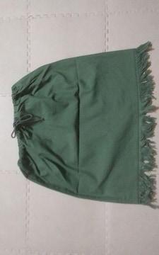ハンドメイド 美品 グリーン