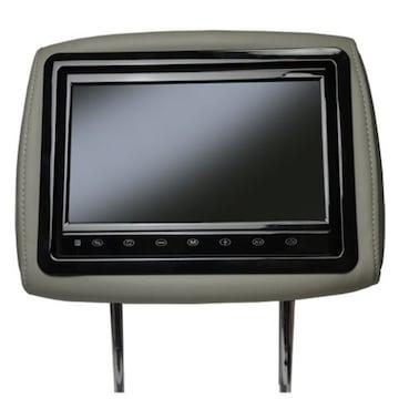 10.1インチワイド液晶ヘッドレストモニター  グレー
