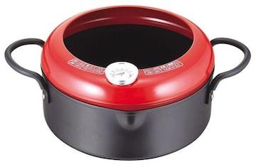 温度計付 天ぷら鍋 20cm IH対応