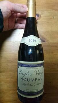赤ワイン ボジョレー・ヌーボー 新品未開封 BEAUJOLAIS