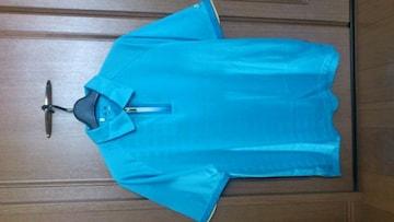 激安84%オフadidas、アディダス、ゴルフ、ポロシャツ(新品タグ、水色、メンズS)