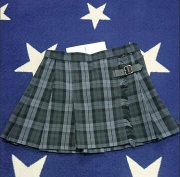 ☆COMMECA コムサ ブロックチェック柄 スカート 新品未使用110☆