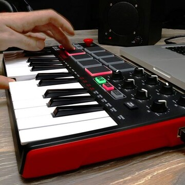 USB MIDIキーボードコントローラー 8パッド ノーマル