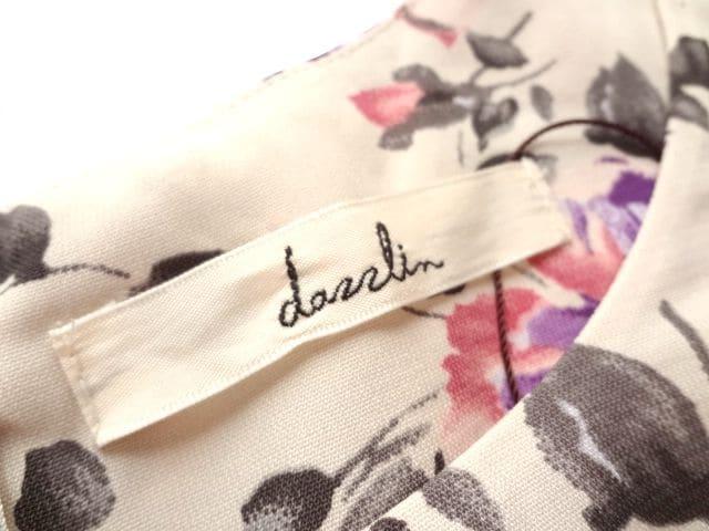 dazzlin ダズリン 花柄 ボタニカル ペプラム ブラウス 上品 < ブランドの