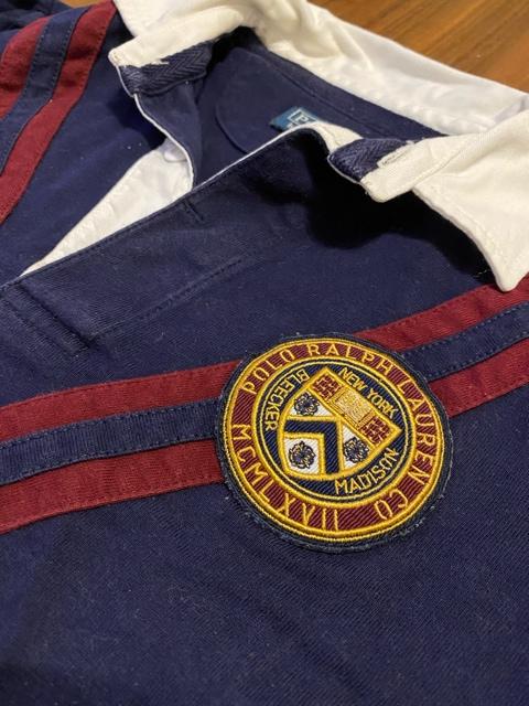 【130cm】ラルフローレン ラガーシャツ ポロシャツ < ブランドの
