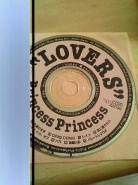 プリンセスプリンセス CD アルバム ユーズド LOVERS