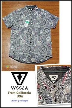 VISSLA最新BDコットンシャツ[MONGOS]本物USA直輸入限定特価SALE!