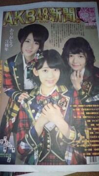 AKB48新聞14年11月号みるきー×卒業なな対談