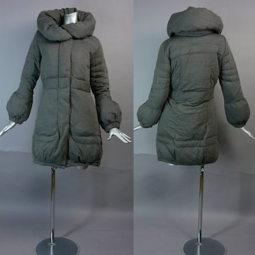 ≪新品♪M≫ダウン70%使用♪すっきりコート