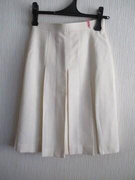 新品同様&国産★毛/クリーム/W63★送料510円可