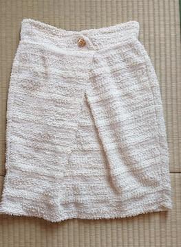 フワフワタイトスカート/ひざ丈
