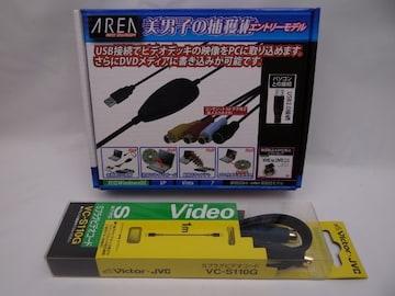 エアリア 美男子の捕獲術 USBキャプチャー+Sプラグコード