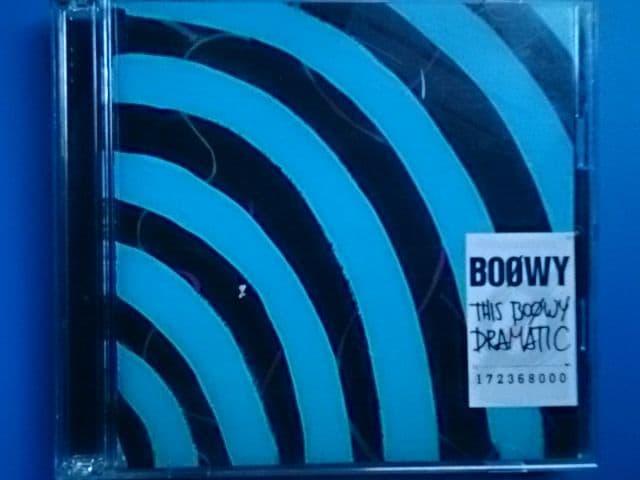 BOOWY THE BOOWY DRAMATIC DVD付  < タレントグッズの