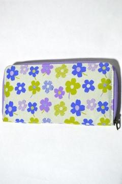 新品 チャイハネ 長財布 ジャガード織り レディース 花柄 和柄