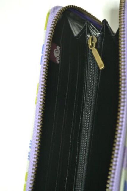 新品 チャイハネ 長財布 ジャガード織り レディース 花柄 和柄 < ブランドの