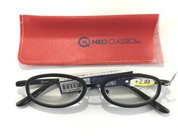 新品♪ +2.00 NEO CLASSIC リーディンググラス 老眼鏡