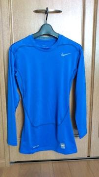 激安52%オフナイキ、長袖、着圧、長袖Tシャツ(新品タグ、青、L)