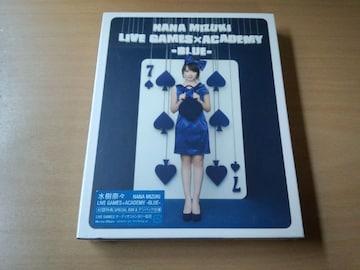 水樹奈々Blu-ray Disc「NANA MIZUKI LIVE GAMES×ACADEMY BLUE