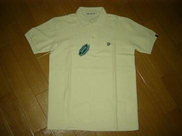 新品アンライバルドUNRIVALED半袖ポロシャツSステッチ刺繍