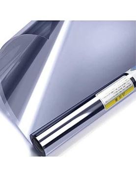 ブルーシルバー 90X1000cm KTJ 窓用フィルム 窓断熱シート 窓断
