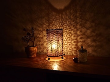バリランプ バンブー 竹 アジアン雑貨 セクシーな灯 照明
