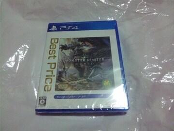 【新品PS4】モンスターハンター:ワールド
