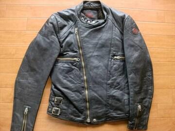 ヴィンテージ MOTO MAN パデッド ライダースジャケット M