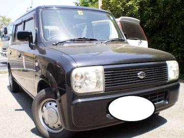 激安売切り大人気ラパン稀少4WD人気のブラック車検満タン