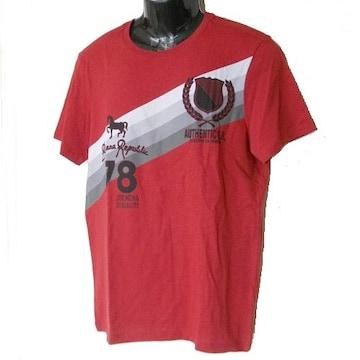 新品◆送料無料◆BananaRepubric赤78ロゴTシャツ(L)