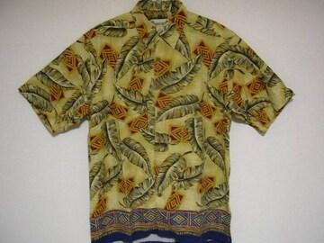 即決USA古着総柄デザインアロハシャツ!ヴィンテージ