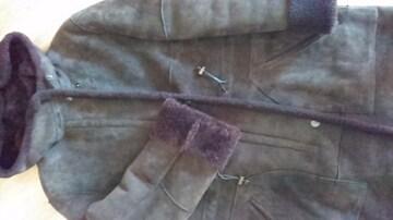 MAXマーラムートンコート&斜め掛けムートンバッグ