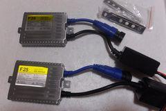 24v専用 超薄型 55w HID汎用交換用デジタルバラスト 2個
