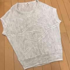新品◆チャオパニックTYPY◆ウールアルパカ混◆袖なしニット