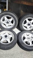 155/65R13GOODYEARスタッドレスタイヤアルミホイール4本セットワゴンRムーブ