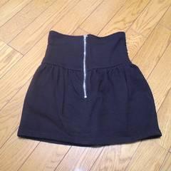 ANAPコクーンミニスカート黒